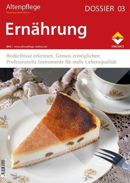 Altenpflege Dossier 03 - Ernährung - Coverbild