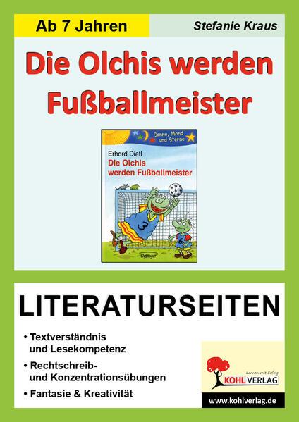 Die Olchis werden Fußballmeister - Literaturseiten - Coverbild