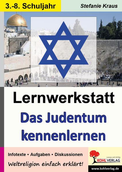 Lernwerkstatt Das Judentum kennen lernen - Coverbild