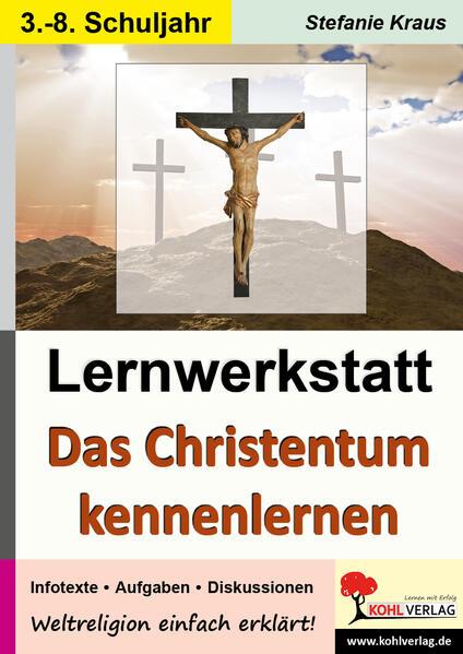 Lernwerkstatt Das Christentum kennen lernen - Coverbild