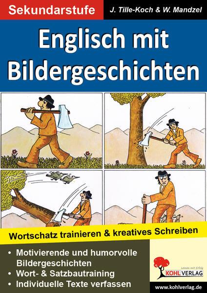 Englisch mit Bildergeschichten Sekundarstufe - Coverbild