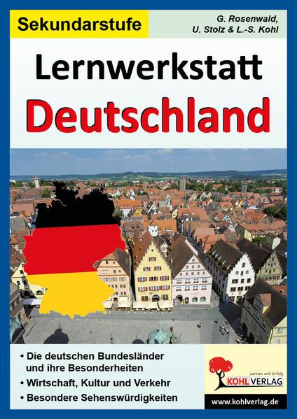 Lernwerkstatt Deutschland, Sekundarstufe - Coverbild
