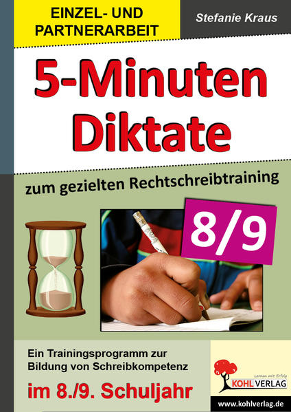 5-Minuten-Diktate / Klasse 8-9 - Coverbild