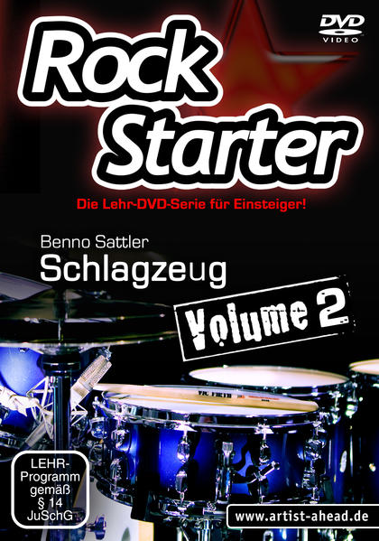 Rockstarter Vol. 2 - Schlagzeug - Coverbild