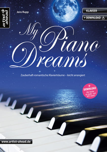 My Piano Dreams - Coverbild