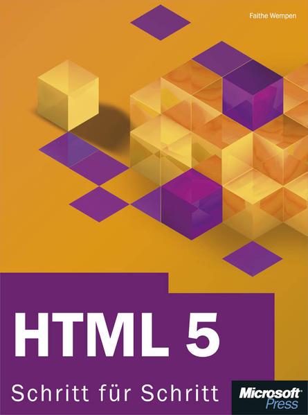 HTML 5 - Schritt für Schritt - Coverbild