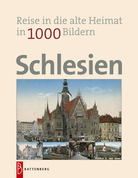Schlesien in 1000 Bildern - Coverbild