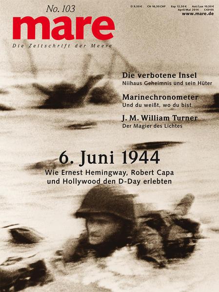 mare - Die Zeitschrift der Meere / No. 103 / D-Day - Coverbild