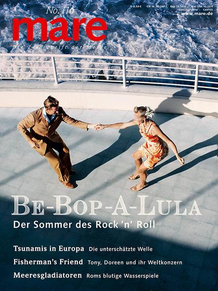 mare - Die Zeitschrift der Meere / No. 116 / Rock 'n' Roll - Coverbild