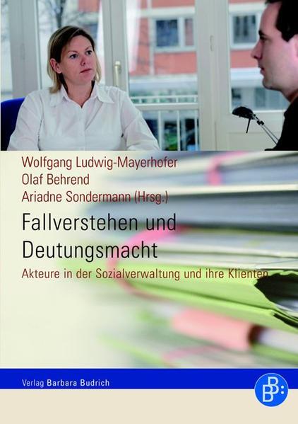 Fallverstehen und Deutungsmacht - Coverbild