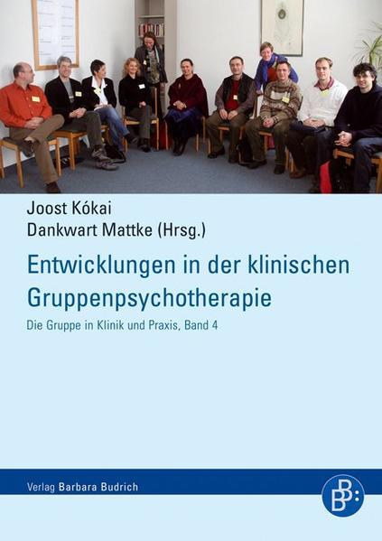 Entwicklungen in der klinischen Gruppenpsychotherapie - Coverbild