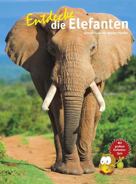 Entdecke die Elefanten - Coverbild
