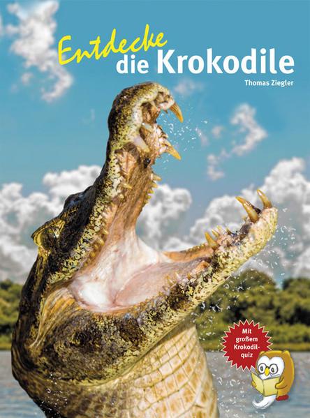 Entdecke die Krokodile - Coverbild