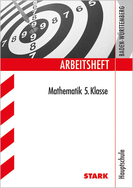 Arbeitsheft Hauptschule Baden-Württemberg - Mathematik 5. Klasse - Coverbild