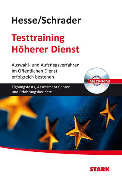 Hesse/Schrader: Testtraining Höherer Dienst - Coverbild