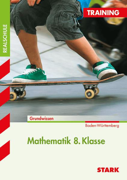 Training Realschule - Mathematik 8. Klasse Baden-Württemberg - Coverbild