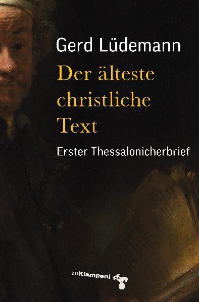 Der älteste christliche Text - Coverbild