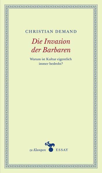 Die Invasion der Barbaren - Coverbild