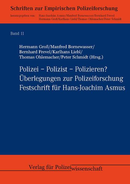 Polizei – Polizist – Polizieren? - Coverbild