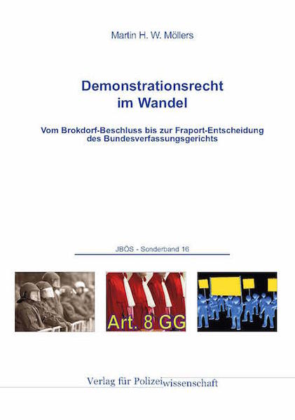 Demonstrationsrecht im Wandel - Coverbild