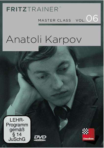 MasterClass Vol. 6: Anatoly Karpov - Coverbild