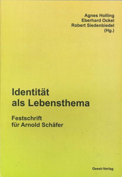 Identität als Lebensthema - Coverbild