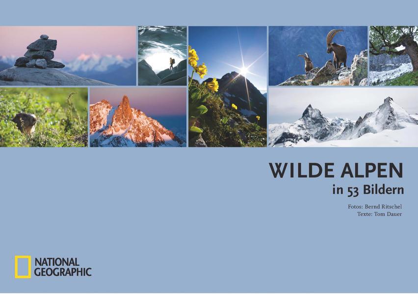 Wilde Alpen in 53 Bildern - Coverbild