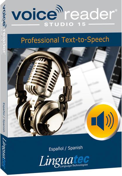 Voice Reader Studio 15 Español / Spanisch - Coverbild