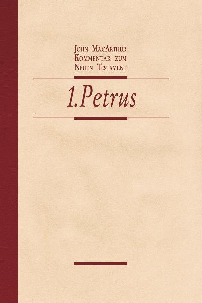Kommentar zum Neuen Testament - 1. Petrus - Coverbild