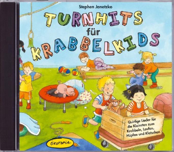 Turnhits für Krabbelkids (CD) - Coverbild