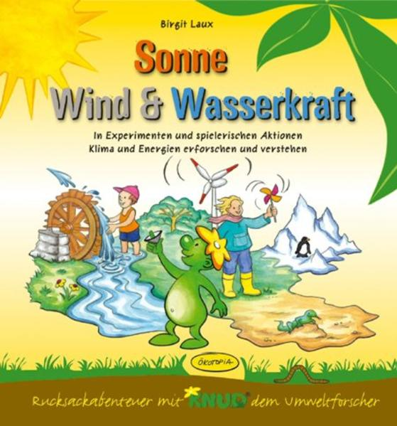 Sonne, Wind & Wasserkraft (Aktionsbuch) - Coverbild