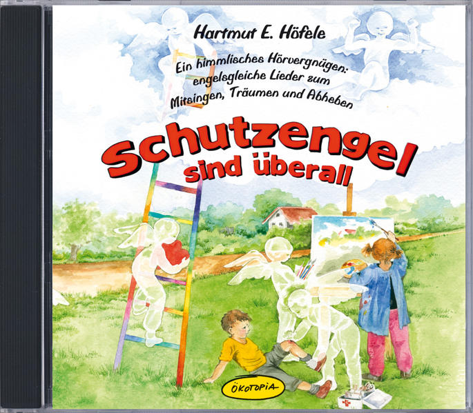 Schutzengel sind überall (CD) - Coverbild