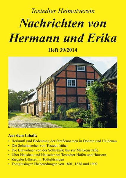 Nachrichten von Hermann und Erika - Coverbild