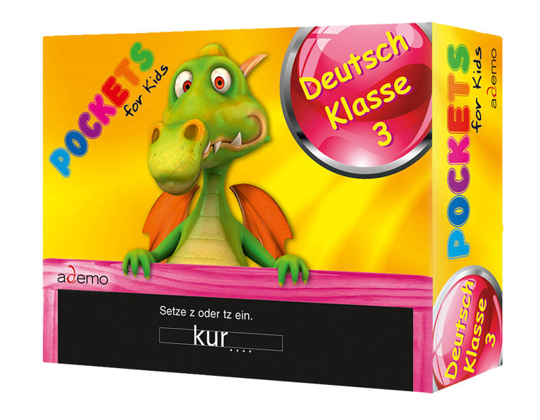 Pockets for kids, Deutsch Klasse 3 - Coverbild