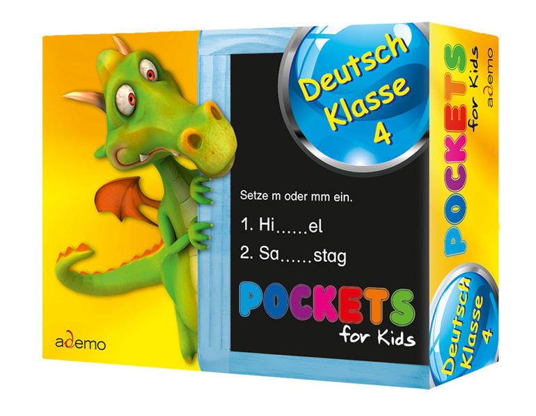 Pockets for kids, Deutsch Klasse 4 - Coverbild