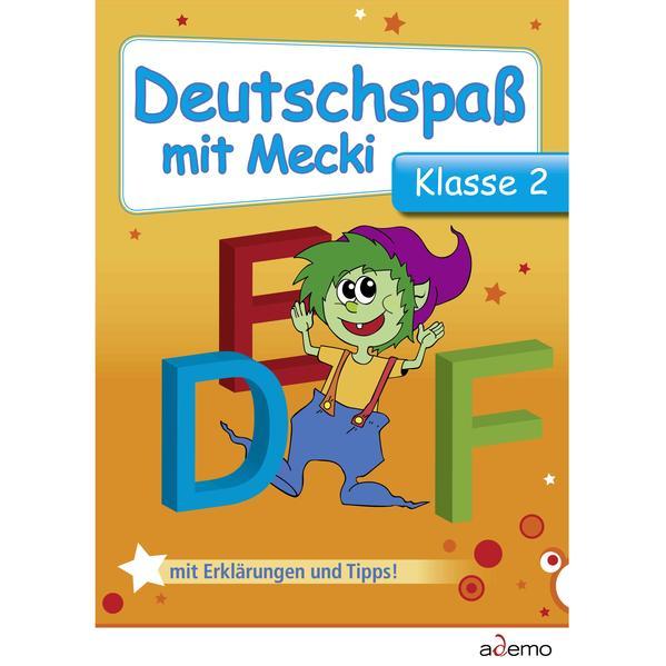 Deutschspaß mit Mecki, Klasse 2 - Coverbild