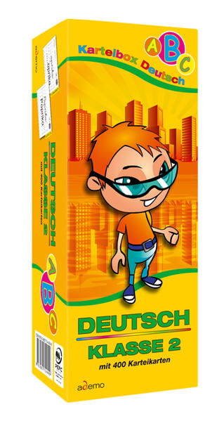 Karteibox Deutsch Klasse 2 - Coverbild