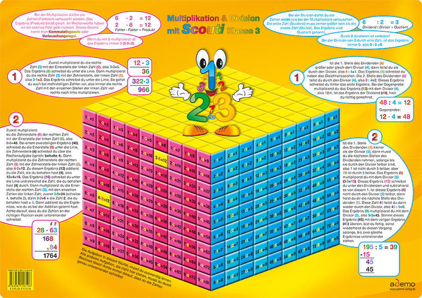 Lern Laminat, Multiplikation und Division - Coverbild
