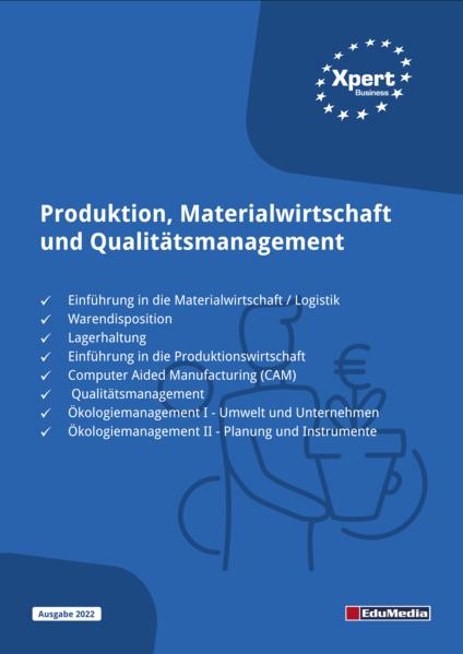 Produktion, Materialwirtschaft und Qualitätsmanagement - Coverbild