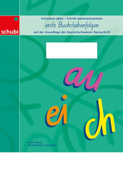 erste Buchstabenfolgen - Coverbild