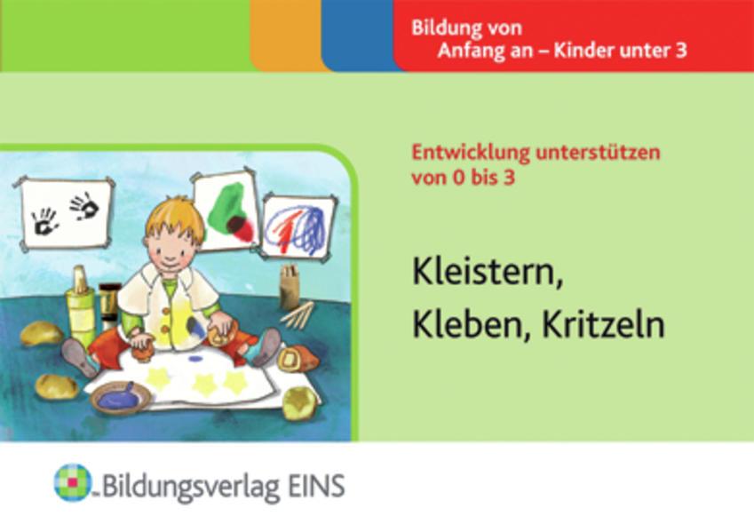 Kleistern, Kleben, Kritzeln - Coverbild