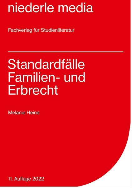 Standardfälle Familien- und Erbrecht - Coverbild