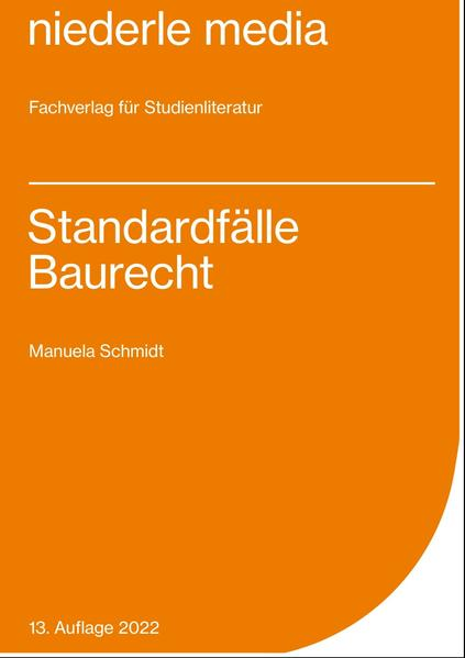 Standardfälle Baurecht - Coverbild