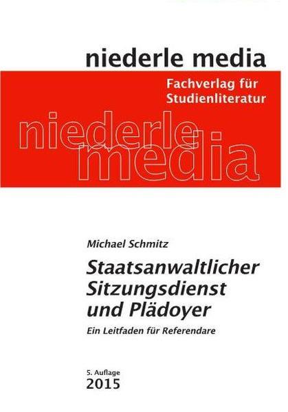 Staatsanwaltlicher Sitzungsdienst und Plädoyer - Coverbild