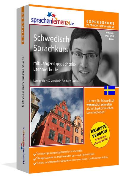 Sprachenlernen24.de Schwedisch-Express-Sprachkurs - Coverbild