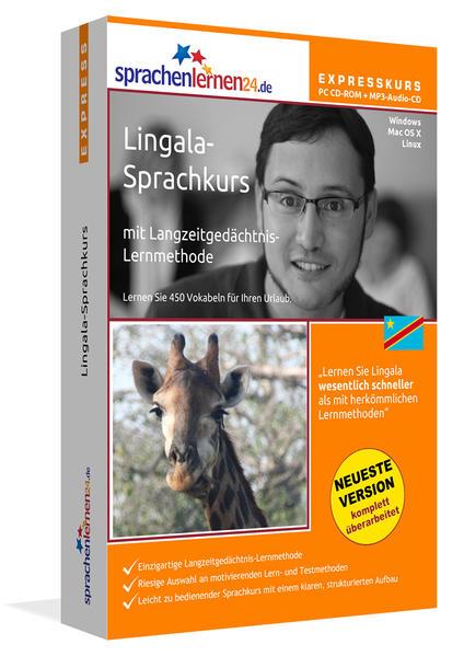 Sprachenlernen24.de Lingala-Express-Sprachkurs - Coverbild