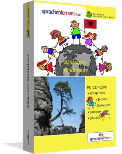 Sprachenlernen24.de Albanisch-Kindersprachkurs - Coverbild