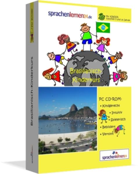 Sprachenlernen24.de Brasilianisch-Kindersprachkurs - Coverbild