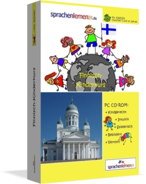Sprachenlernen24.de Finnisch-Kindersprachkurs - Coverbild