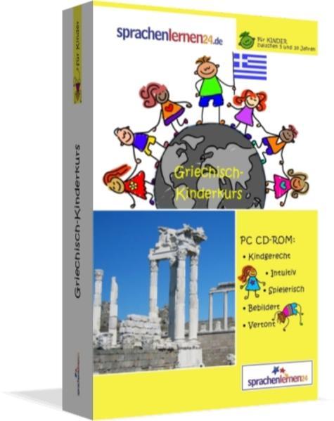 Sprachenlernen24.de Griechisch-Kindersprachkurs - Coverbild